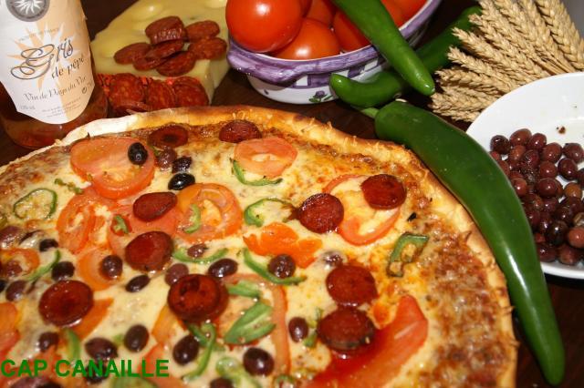 pizzeria chez pp rouen cap canailles pizza rouen livraison domicile. Black Bedroom Furniture Sets. Home Design Ideas